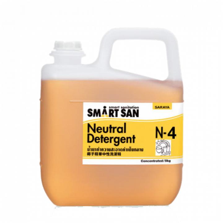Dung dịch tẩy rửa trung tính Smartsan Neutral Detergent N-4 5 L