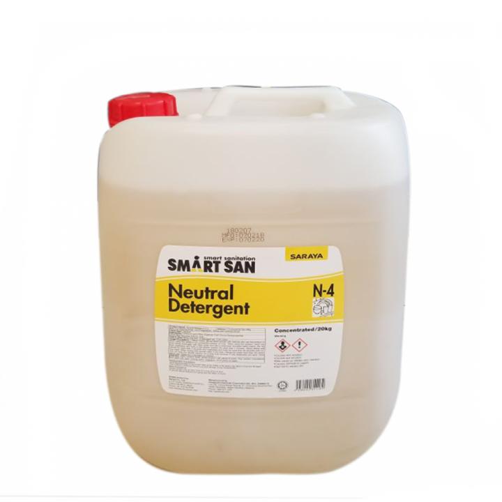 Dung dịch tẩy rửa trung tính Smartsan Neutral Detergent N-4 20 L