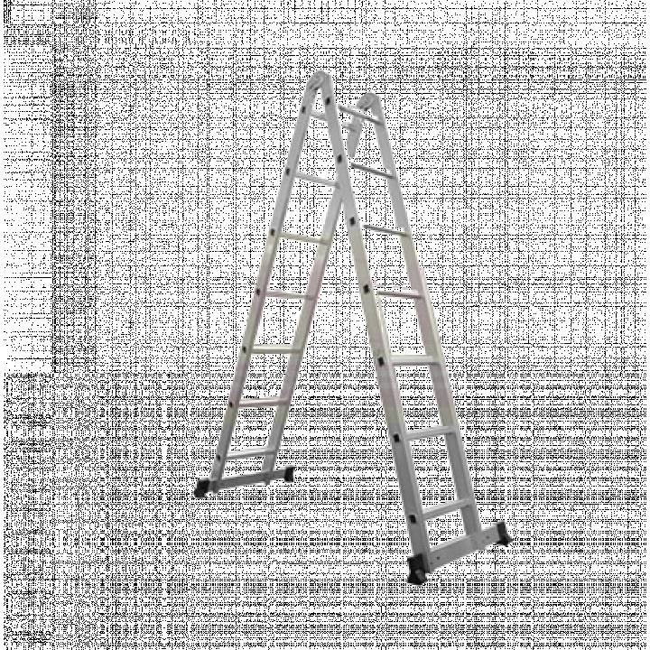Thang nhôm chữ A đa năng bản lớn Ameca AMC-M307