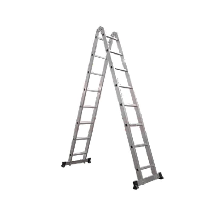 Thang nhôm chữ A đa năng bản lớn Ameca AMC-M308