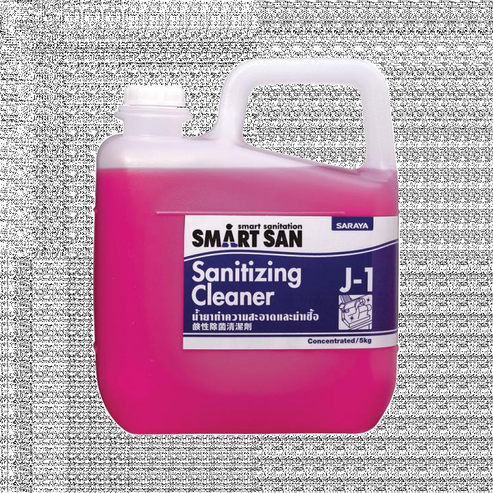 Dung dịch tẩy rửa và sát khuẩn Sanitizing Cleaner Smartsan J-1 5kg