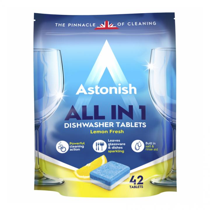 Viên rửa chén bát all in 1 Astonish C2170