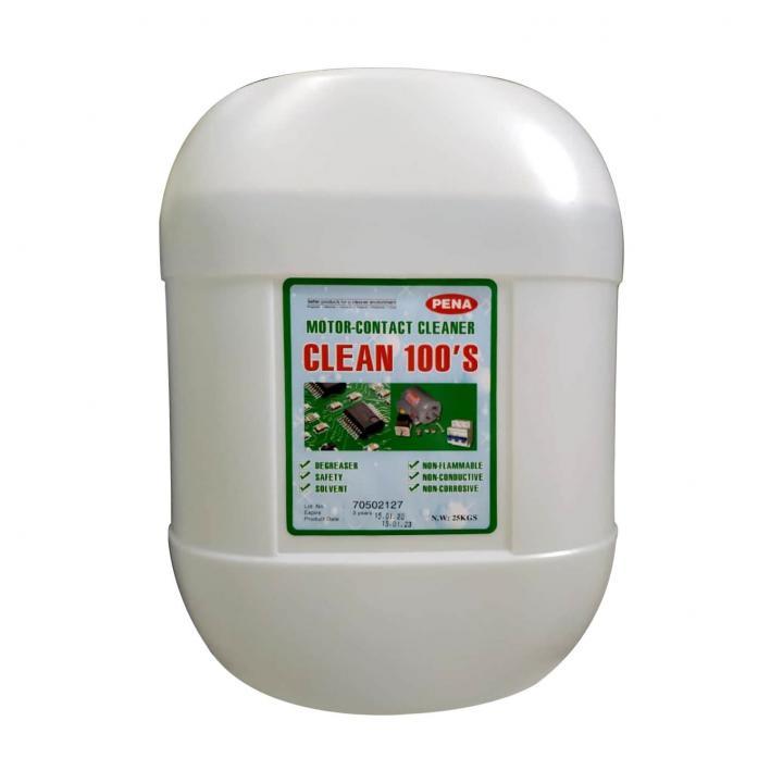 Hóa chất tẩy rửa dầu mỡ motor và tiếp điểm Clean 100'S