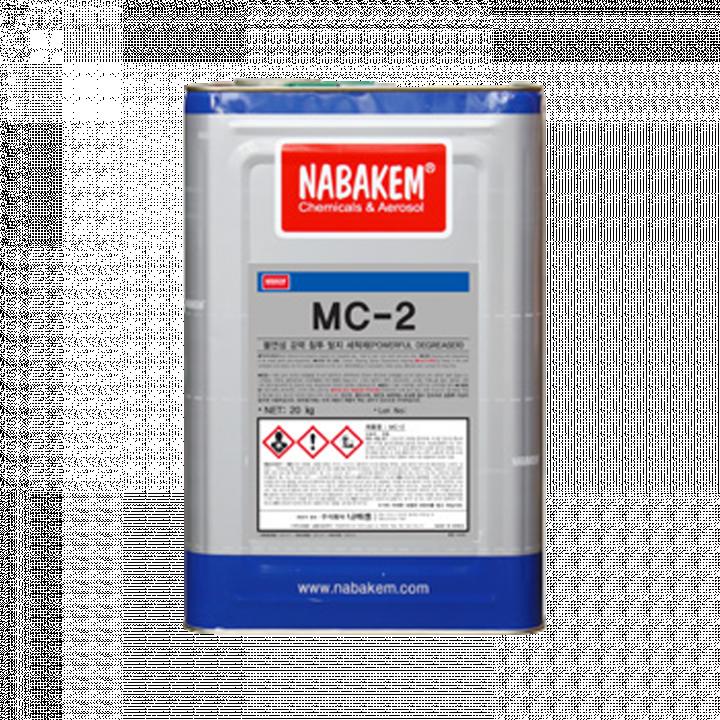 Hóa chất làm sạch máy móc thiết bị công nghiệp Nabakem MC-2
