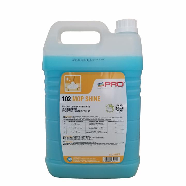Nước lau sàn và sáng bóng cho sàn Goodmaid Pro GMP 102 Mop Shine 5L (Hương hoa Lavender)