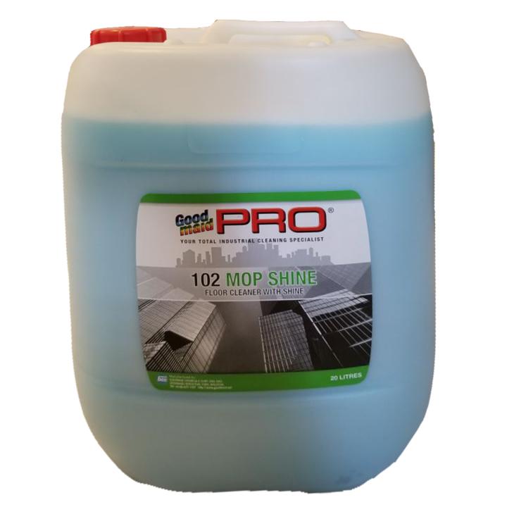 Nước lau sàn và sáng bóng cho sàn Goodmaid Pro GMP 102 Mop Shine 20L (Hương hoa Lavender)