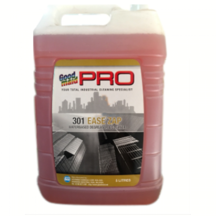 Nước lau sàn, tẩy rửa dầu mỡ Goodmaid Pro GMP 301 Ease Zap 5L