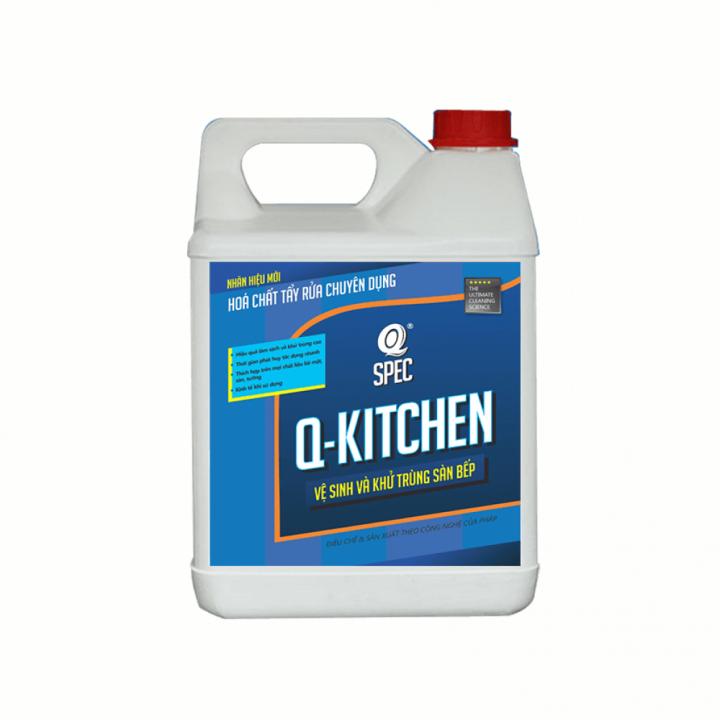 Dung dịch vệ sinh khử trùng sàn bếp AVCO Q-Kitchen 4L