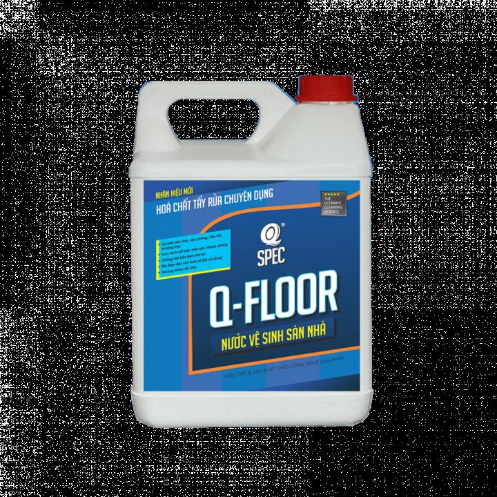 Nước lau sàn AVCO Q-Floor 4L (tỉ lệ pha loãng 1:40 hoặc 1:80)