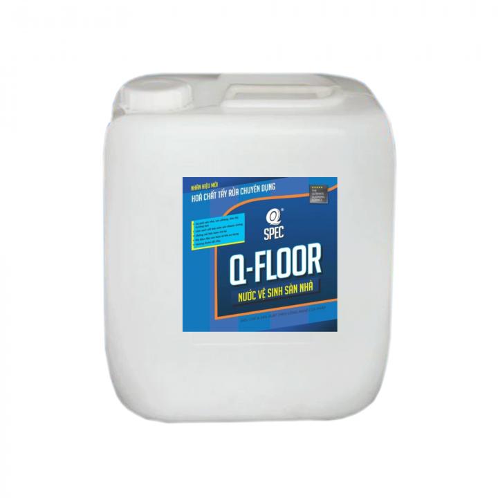 Nước lau sàn AVCO Q-Floor 20L (tỉ lệ pha loãng 1:40 hoặc 1:80)