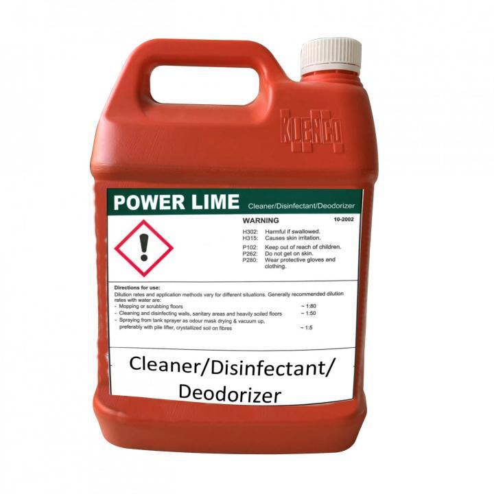 Nước lau sàn đa năng Klenco Power Lime 5L