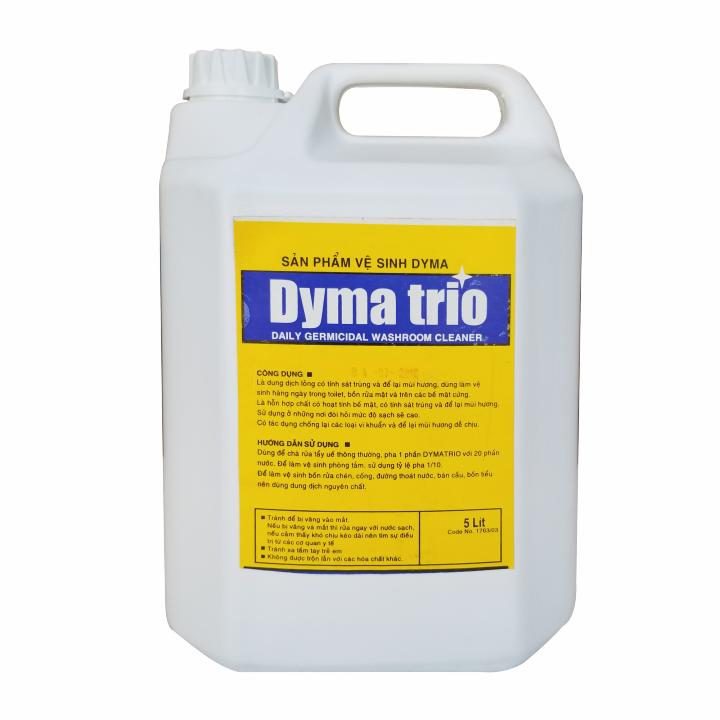 Nước lau sàn khử mùi Dymachem DYMA TRIO (hương táo)