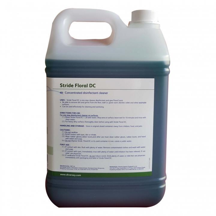 Hóa chất lau sàn, làm sạch các bề mặt đa năng Stride Floral DC
