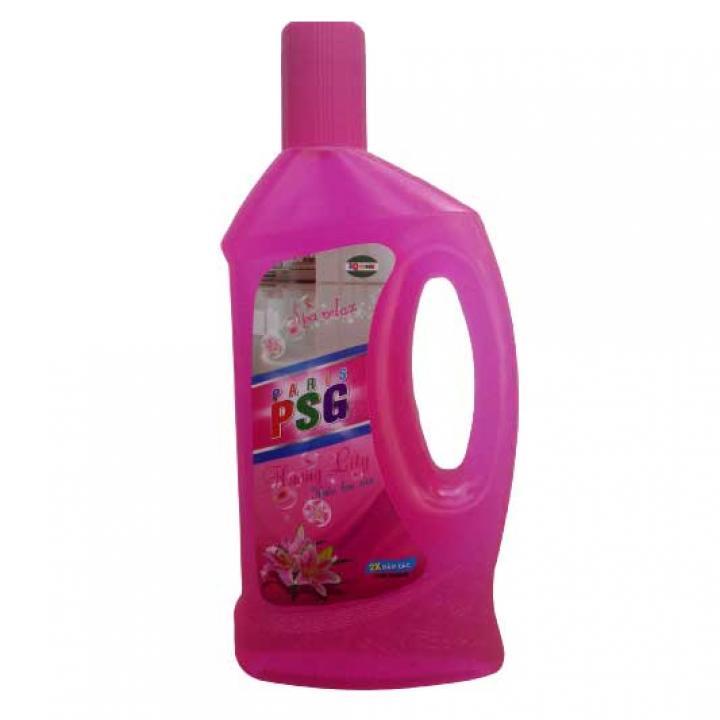 Nước lau sàn PSG màu hồng 1L 24 chai