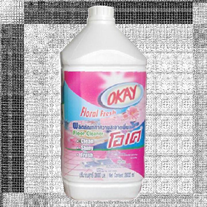 Nước lau sàn OKAY hồng 3.8L