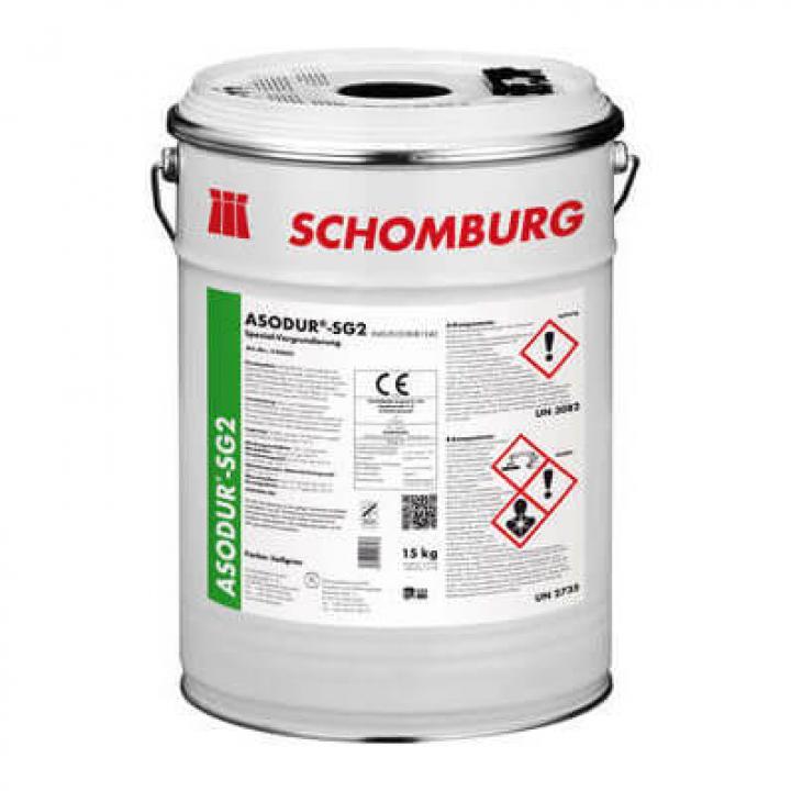 Lớp lót epoxy ngăn hơi ẩm và dầu, ngăn chặn tình trạng phồng giộp sàn epoxy ASODUR-SG2