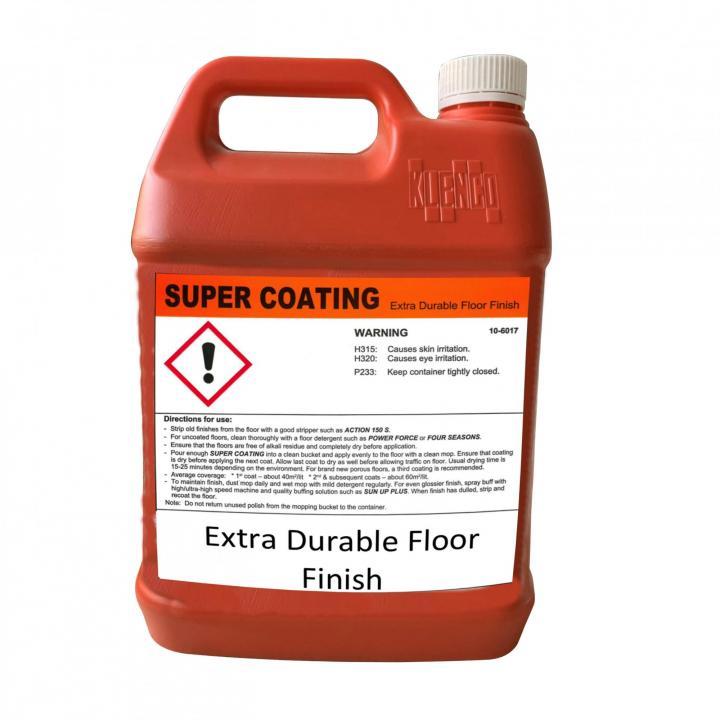 Hóa chất phủ bóng sàn cứng Klenco Super Coating 5L