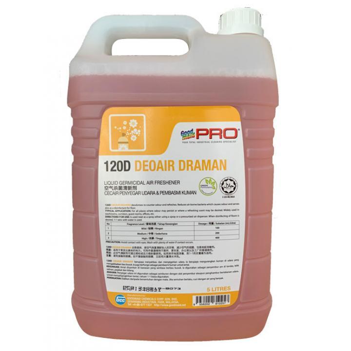 Nước xịt thơm và khử mùi phòng Goodmaid PRO GMP 120D 5L (Hương hoa nhài)