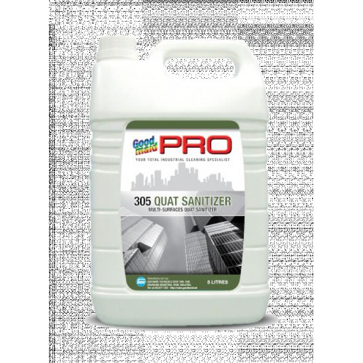 Hóa chất vệ sinh và sát khuẩn, chống rêu mốc gốc QAC Goodmaid PRO GMP 305