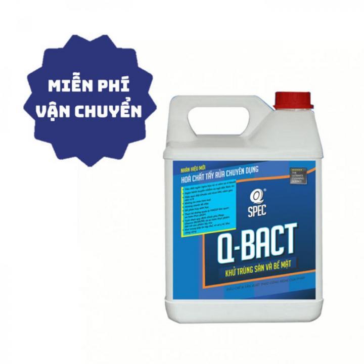 Nước sát khuẩn, khử trùng sàn và bề mặt AVCO Q-Bact 4L (tỉ lệ pha loãng 1%) - Viện Pasteur chứng nhận