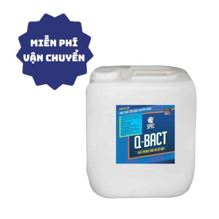 Nước sát khuẩn, khử trùng sàn và bề mặt AVCO Q-Bact 20L (tỉ lệ pha loãng 1%) - Viện Pasteur chứng nhận
