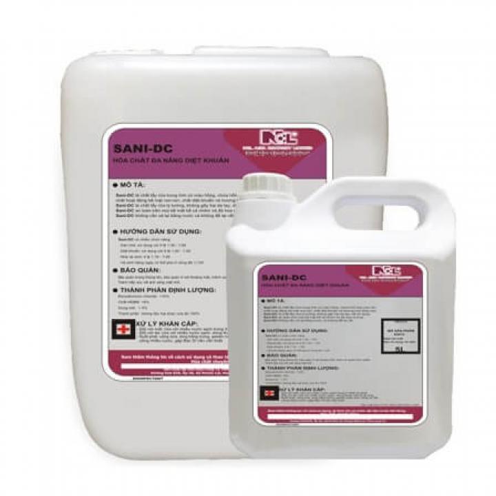 Hóa chất tẩy rửa khử trùng NCL SANI DC 5L