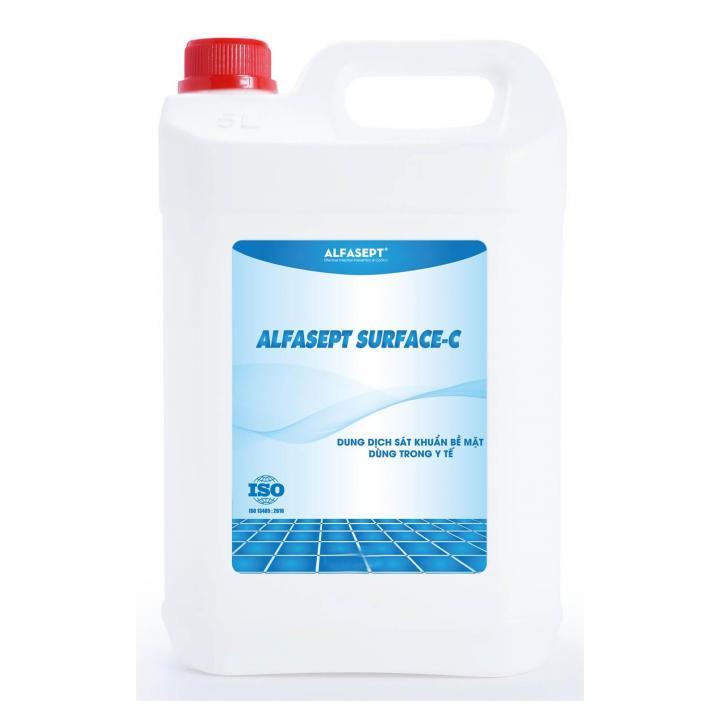 Dung dịch sát khuẩn bề mặt ALFASEPT SURFACE - C AF215010 5L