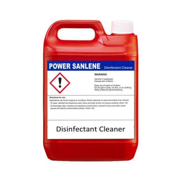 Nước khử trùng và vệ sinh bề mặt Klenco Power Sanlene 5L