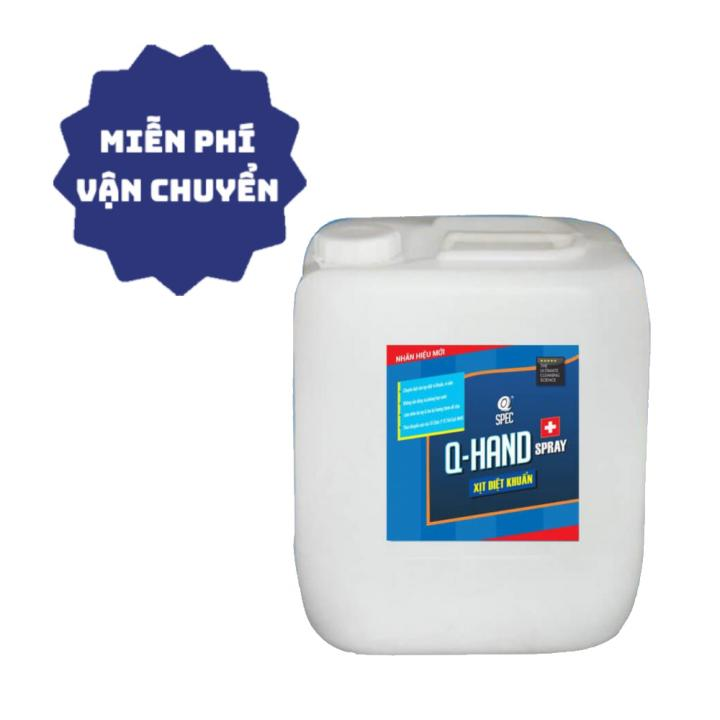 Dung dịch rửa tay khô AVCO Q-HAND SPRAY 20L - Viện Pasteur chứng nhận