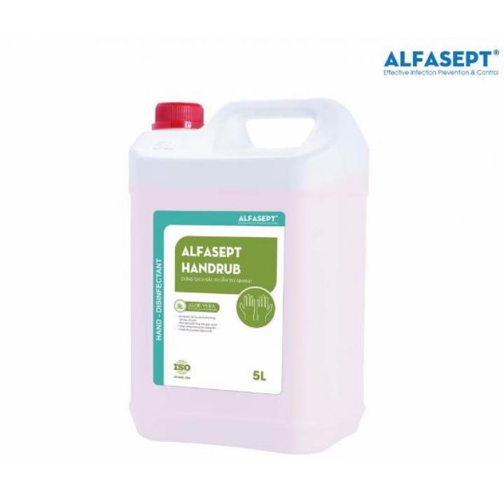 Dung dịch sát khuẩn tay nhanh ALFASEPT HANDRUB 5L