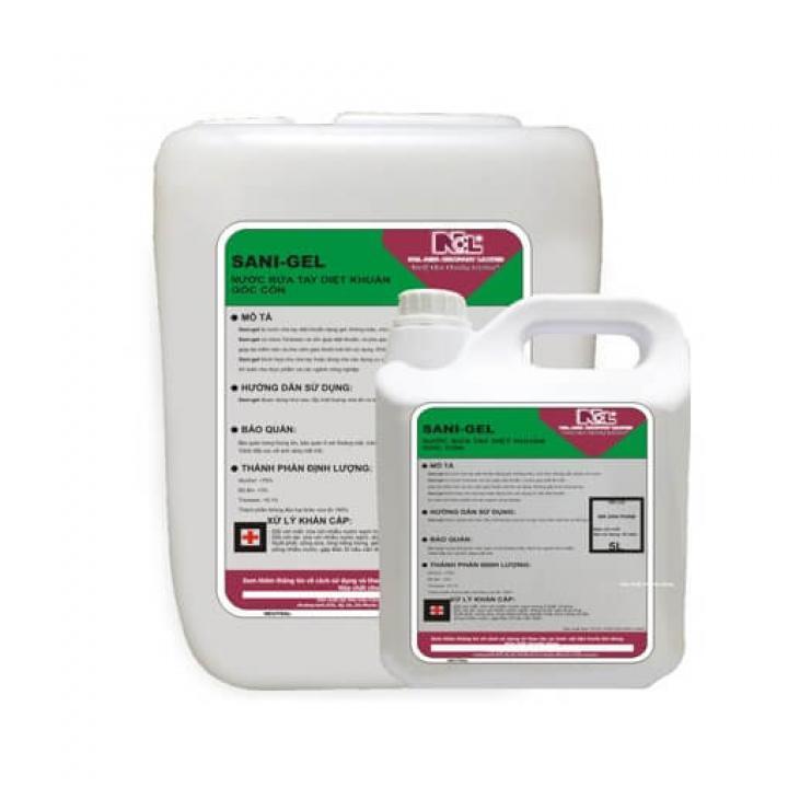 Gel rửa tay diệt khuẩn gốc cồn NCL SANI-GEL 5L