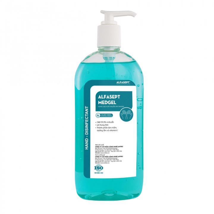 Dung dịch sát khuẩn tay nhanh ALFASEPT MED GEL AF209005 500ml