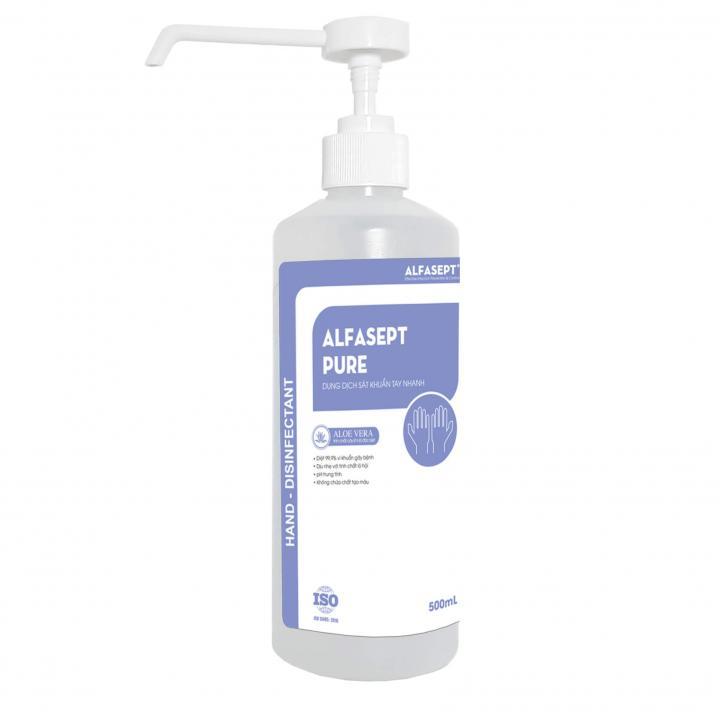 Dung dịch sát khuẩn tay nhanh ALFASEPT PURE AF2040052 500ml