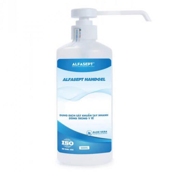 Dung dịch sát khuẩn tay nhanh ALFASEPT HANDGEL AF201005 500ml