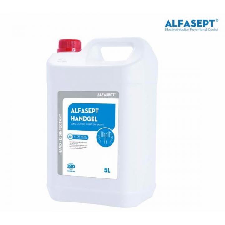 Dung dịch sát khuẩn tay nhanh ALFASEPT HANDGEL 5L