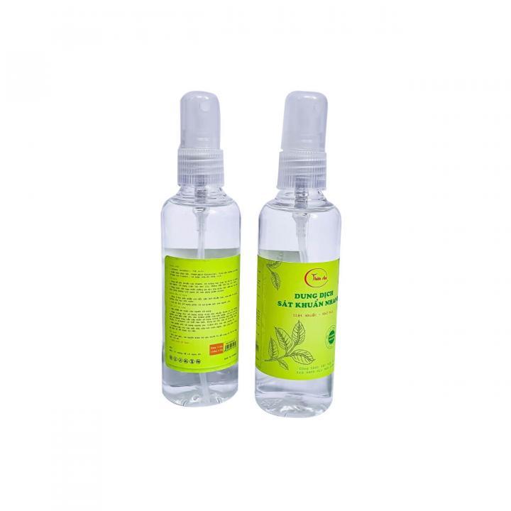 Dung dịch rửa tay sát khuẩn Thiên An - Cồn 80⁰ (Dạng xịt 100ML)