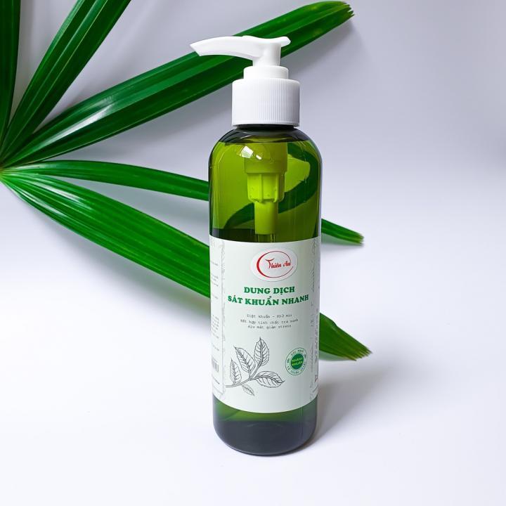 Dung dịch rửa tay sát khuẩn Thiên An - Cồn 80⁰ (Dạng vòi 300ML)