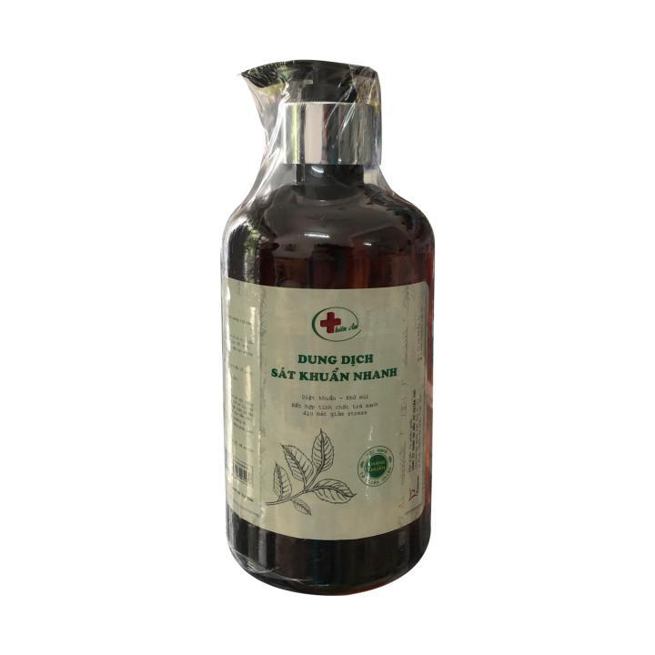Dung dịch rửa tay sát khuẩn Thiên An - Cồn 80⁰ (Chai dạng vòi 1L)