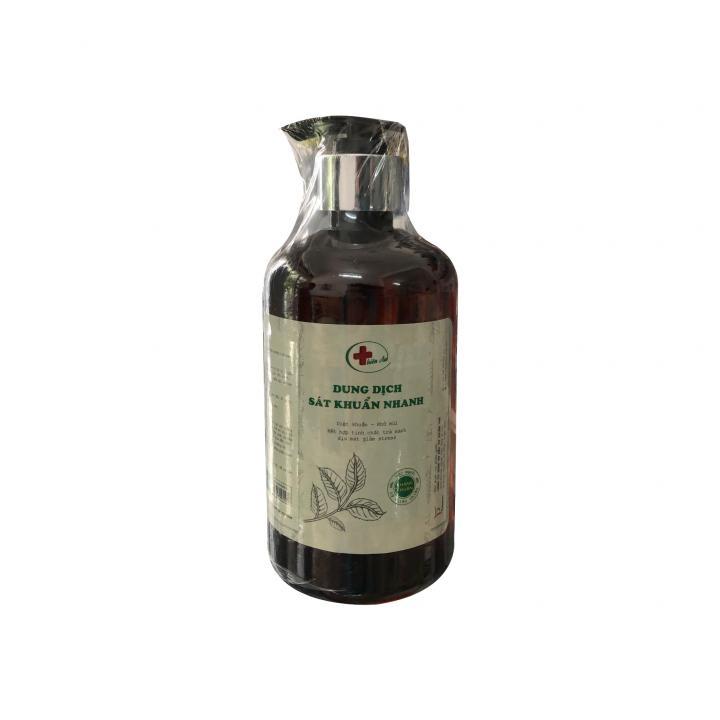 Dung dịch rửa tay sát khuẩn Thiên An - Cồn 80⁰ (combo 2 chai, dạng vòi 250ml/chai)