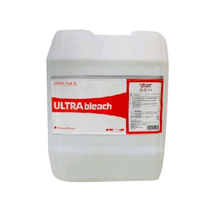 Hóa chất tẩy trắng đồ vải ULTRA KOREA ULTRA BLEACH 18.75L