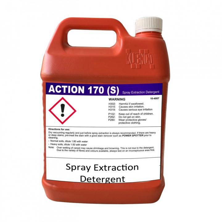Hóa chất giặt thảm giặt ghế Klenco Action 170-S 5L