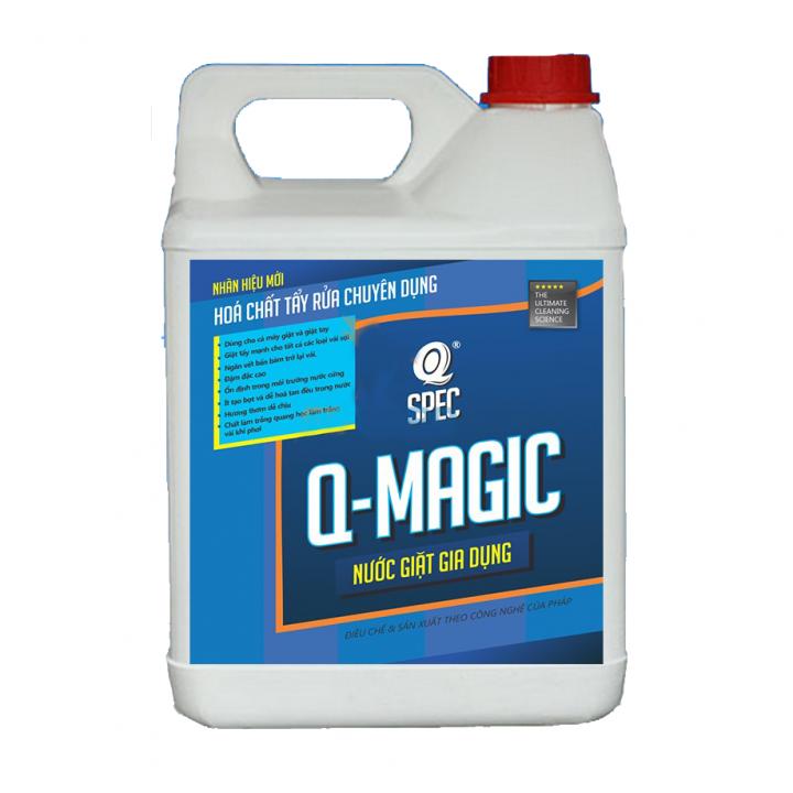 Nước giặt siêu tẩy AVCO Q-MAGIC (can 4L)