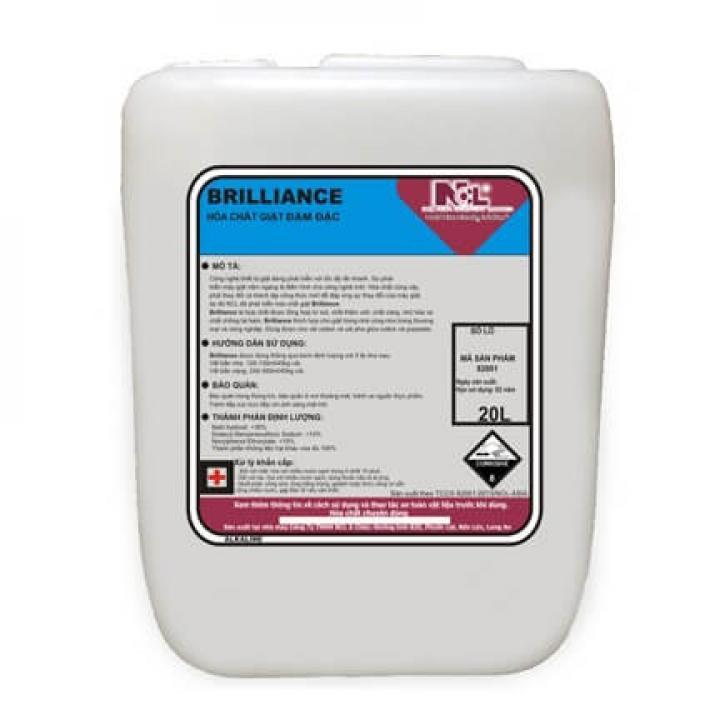 Hóa chất giặt đậm đặc NCL Brilliance Plu 20L