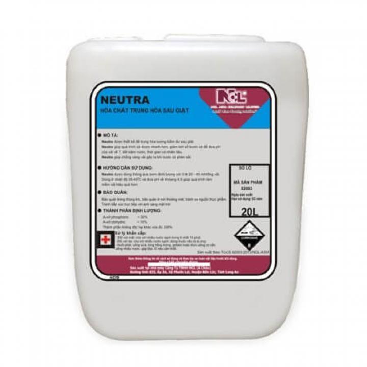 Hóa chất trung hòa sau khi giặt NCL Neutra 20L
