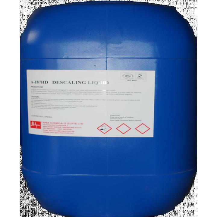 Dung dịch khử cáu cặn Apex A-187 DESCALER HD - 25 Lít