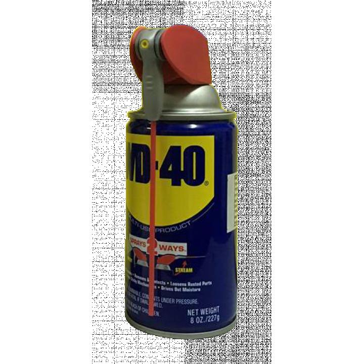 Chai xịt chống rỉ sét, bôi trơn WD-40 Smart Straw 227g