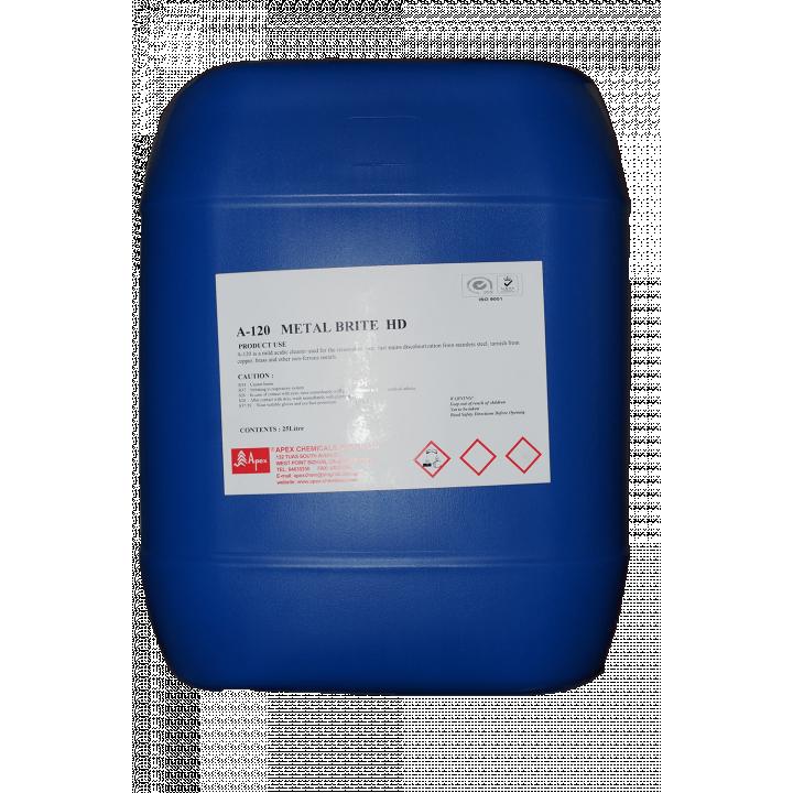 Hóa chất tẩy rỉ sét bề mặt kim loại Apex APEX-120 METAL BRITE HD - 25 Lít