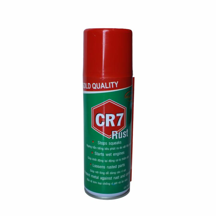 Chai xịt chống rỉ sét và bôi trơn Socare CR7 480 ml