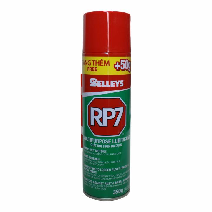 Chai xịt chống rỉ sét và bôi trơn Selleys RP7 350g