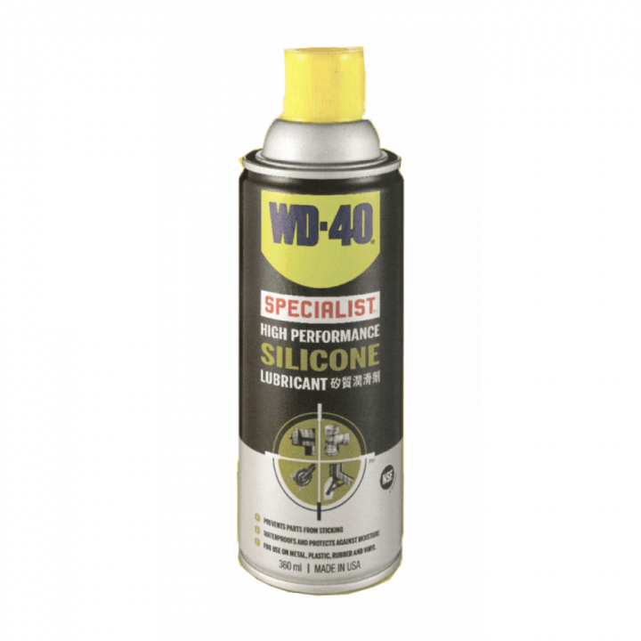 Chất bôi trơn Silicon, tác dụng cao WD-40 High Performance Silicone Lubricant